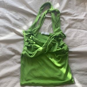 The Line by K Izzy Top in Green